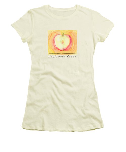 Delicious Apple Women's T-Shirt (Athletic Fit)
