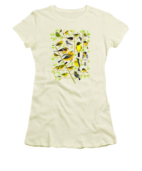 Warblers 1 Women's T-Shirt (Athletic Fit)