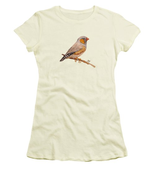 Zebra Finch Women's T-Shirt (Athletic Fit)