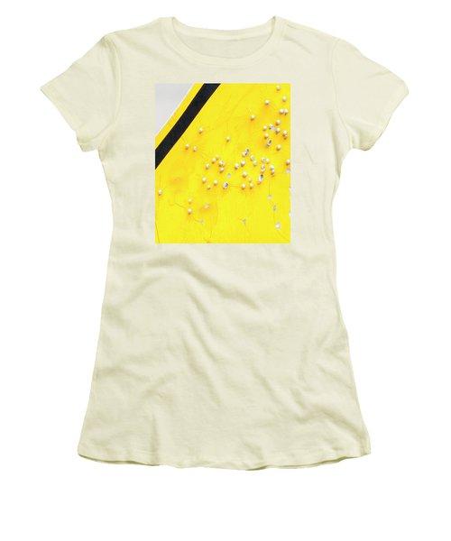 That's Not Braille Women's T-Shirt (Junior Cut) by Bill Kesler