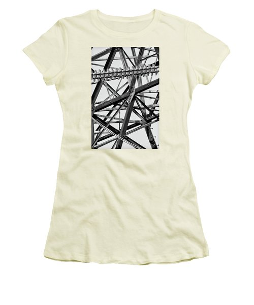 What's Your Angle Women's T-Shirt (Junior Cut) by Bill Kesler