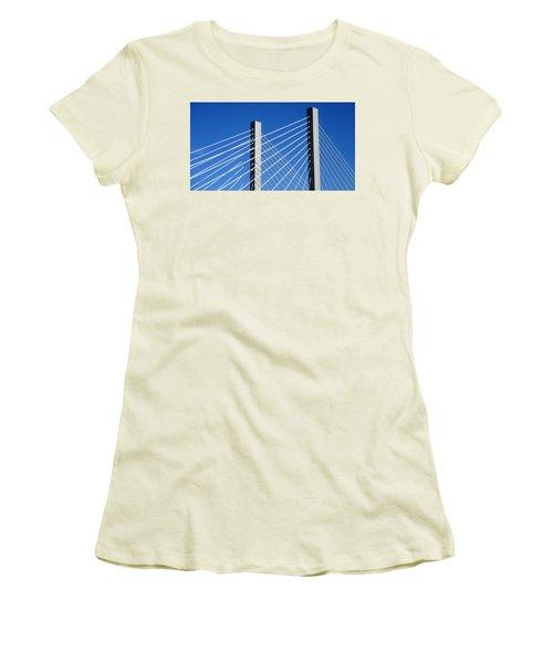 Aspire 2 Women's T-Shirt (Junior Cut) by Martin Cline