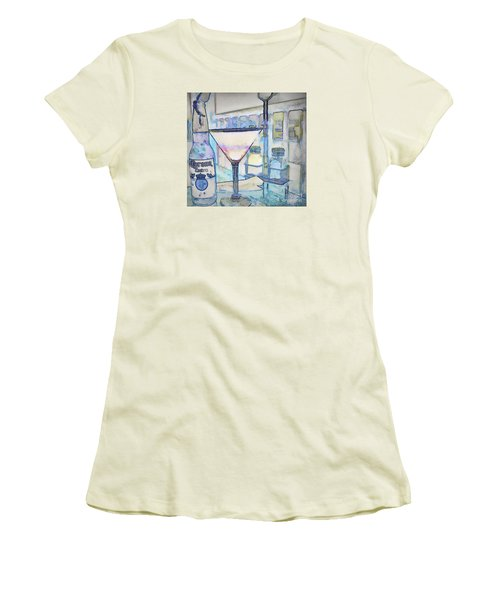 At The End Of The Day Women's T-Shirt (Junior Cut) by Pamela Blizzard