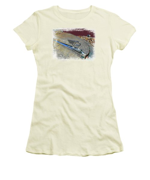 Austin A40 Somerset Flying A Women's T-Shirt (Athletic Fit)