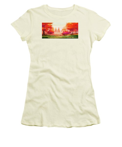 Autumn Delight Women's T-Shirt (Athletic Fit)