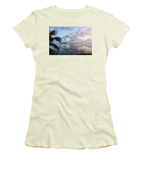 Awakening At Sunrise Women's T-Shirt (Athletic Fit)