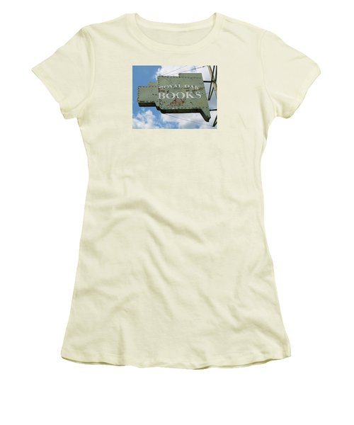 A Sign Of The Times Women's T-Shirt (Junior Cut) by Sandra Church