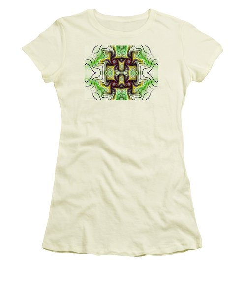 Aztec Art Design Women's T-Shirt (Athletic Fit)