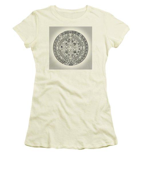 Aztec Sun Women's T-Shirt (Athletic Fit)
