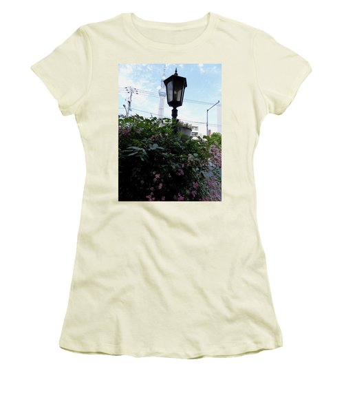Back Street In Tokyo Women's T-Shirt (Athletic Fit)