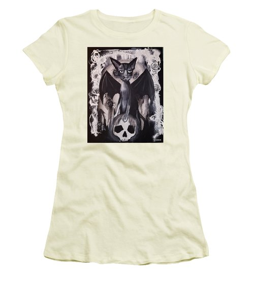 Badkitty Women's T-Shirt (Athletic Fit)