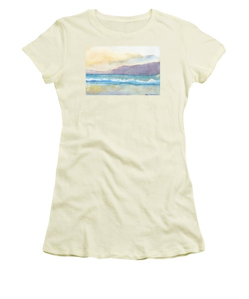 Ballenskelligs Beach Women's T-Shirt (Athletic Fit)