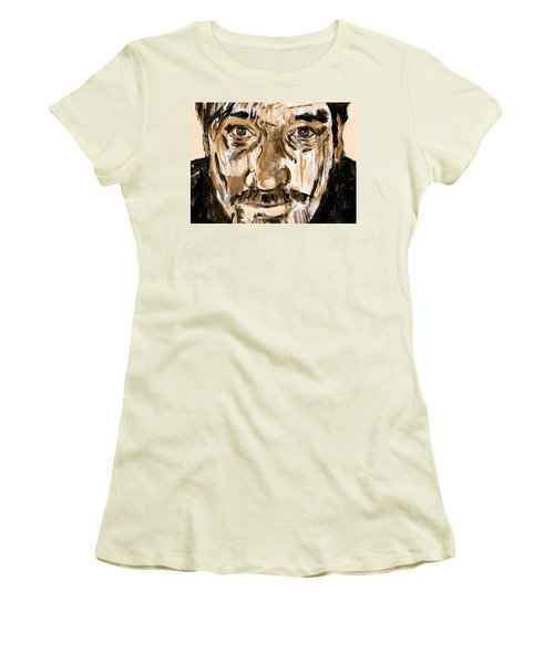 Bart Women's T-Shirt (Junior Cut) by Jim Vance