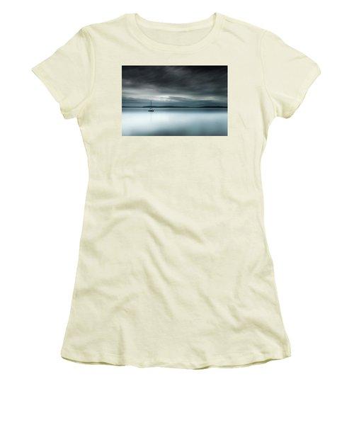 Batten Down The Hatches Women's T-Shirt (Athletic Fit)