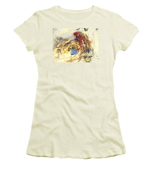 Beach Art Women's T-Shirt (Athletic Fit)