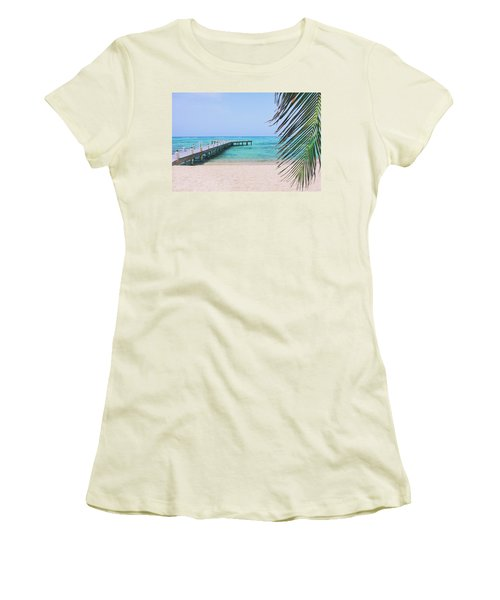 Beach Dreams Women's T-Shirt (Junior Cut) by Iryna Goodall
