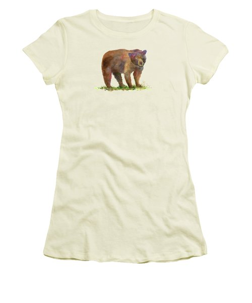 Bear Women's T-Shirt (Athletic Fit)