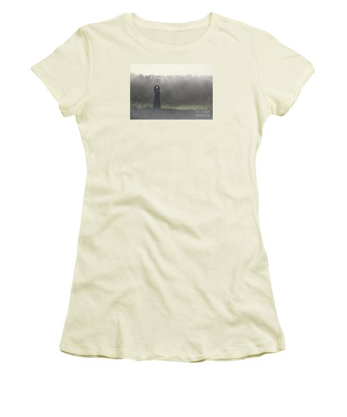 Beauty In The Fog Women's T-Shirt (Athletic Fit)