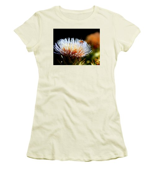 Bee And Artichoke Women's T-Shirt (Athletic Fit)