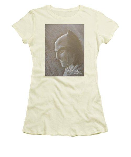 Ben As Batman Women's T-Shirt (Athletic Fit)