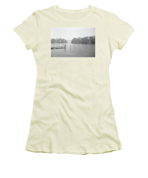 Berlin Lake Women's T-Shirt (Athletic Fit)