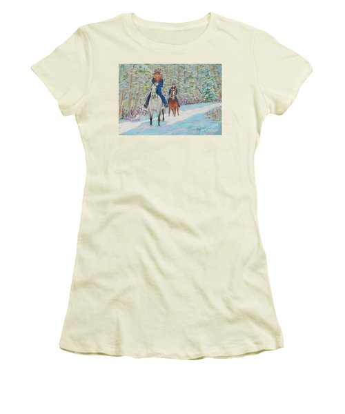 Beth And Nancy  Women's T-Shirt (Athletic Fit)