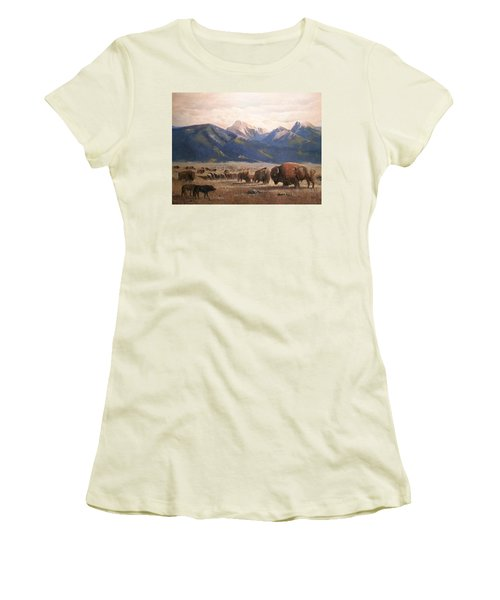 Between A Rock And A Hard Place Women's T-Shirt (Athletic Fit)
