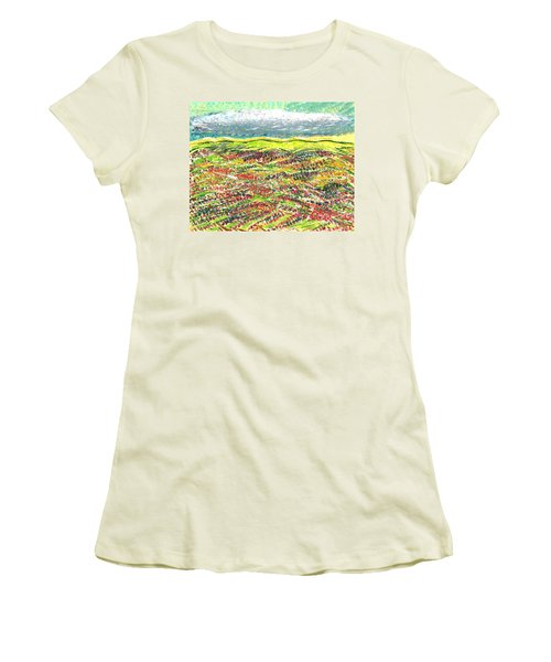 Beyond The Foothills Women's T-Shirt (Athletic Fit)