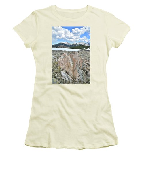 Big Horn Pass In Wyoming Women's T-Shirt (Athletic Fit)