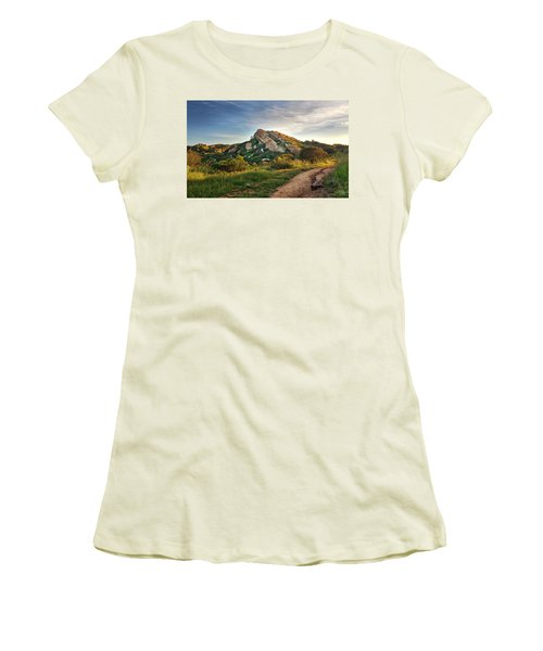 Big Rock Women's T-Shirt (Junior Cut) by Endre Balogh