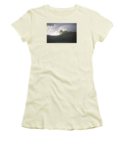 Big Waves #3 Women's T-Shirt (Athletic Fit)