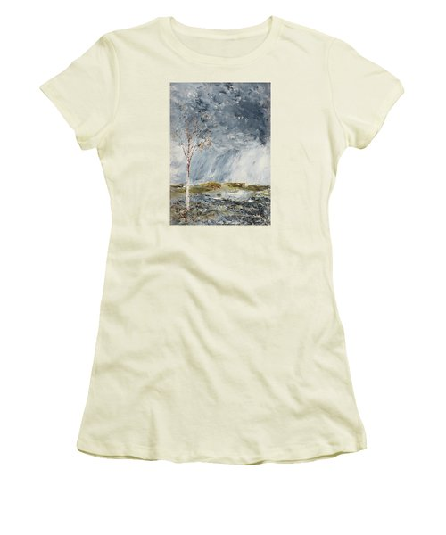 Birch I Women's T-Shirt (Junior Cut) by August Strindberg