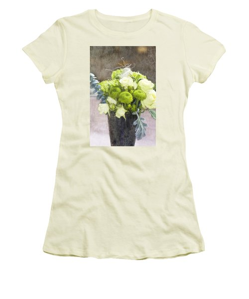 Women's T-Shirt (Junior Cut) featuring the photograph Birthday Wishes by Joan Bertucci