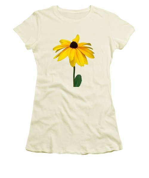 Black Eyed Susan Tee Shirt Women's T-Shirt (Athletic Fit)