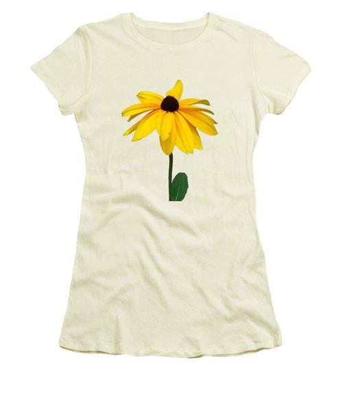 Black Eyed Susan Tee Shirt Women's T-Shirt (Athletic Fit)