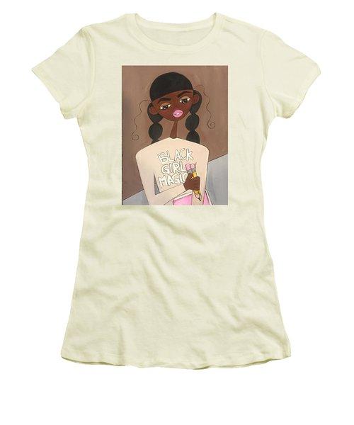 Black Girl Magic Women's T-Shirt (Athletic Fit)