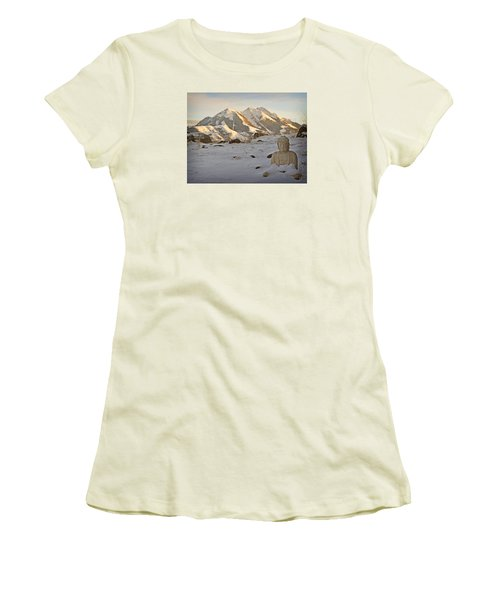 Blanket Of Peace Women's T-Shirt (Athletic Fit)