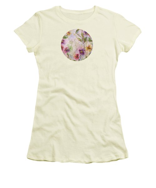 Bloom Women's T-Shirt (Junior Cut) by Mary Wolf