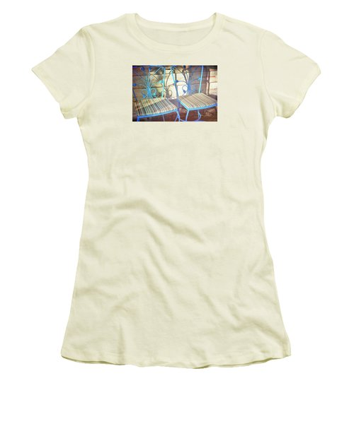 Blooming Seats Women's T-Shirt (Junior Cut) by JAMART Photography