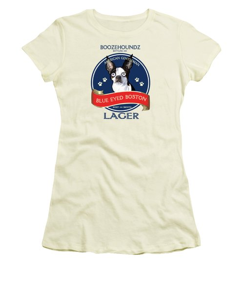Blue Eyed Boston Lager Women's T-Shirt (Athletic Fit)