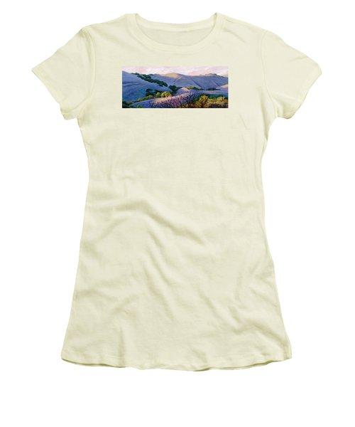 Blue Hills Women's T-Shirt (Athletic Fit)
