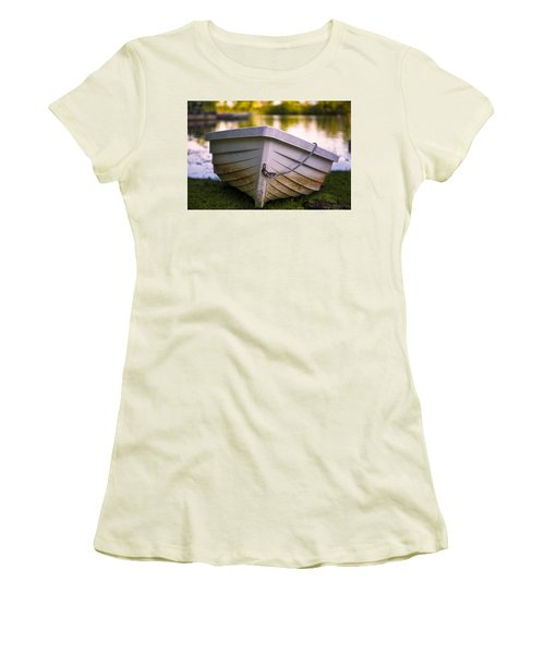 Boat On Land Women's T-Shirt (Athletic Fit)