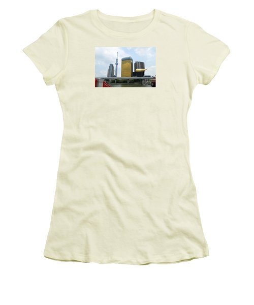 Tokyo Bokutei Dori  Women's T-Shirt (Athletic Fit)