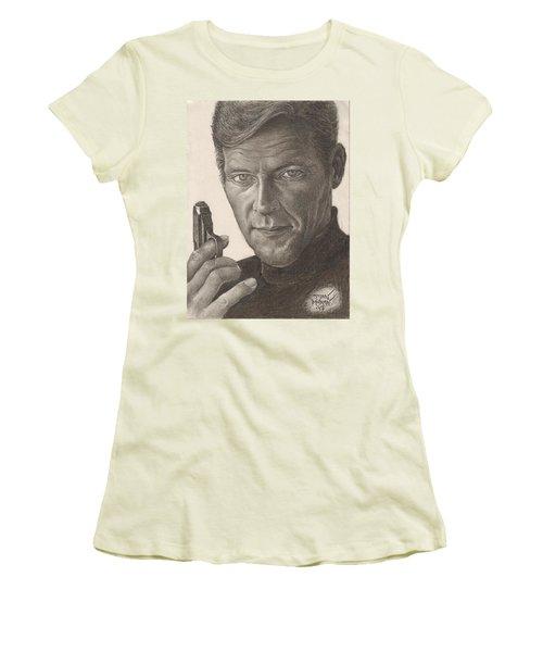 Bond Portrait Women's T-Shirt (Athletic Fit)