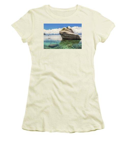Bonsai Rock Women's T-Shirt (Junior Cut) by Marc Crumpler
