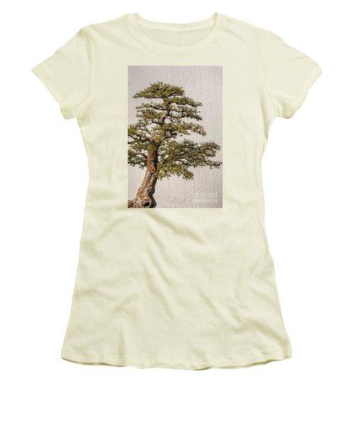 Bonsai Tree Women's T-Shirt (Athletic Fit)