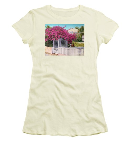 Bougainvillea Crown Women's T-Shirt (Athletic Fit)