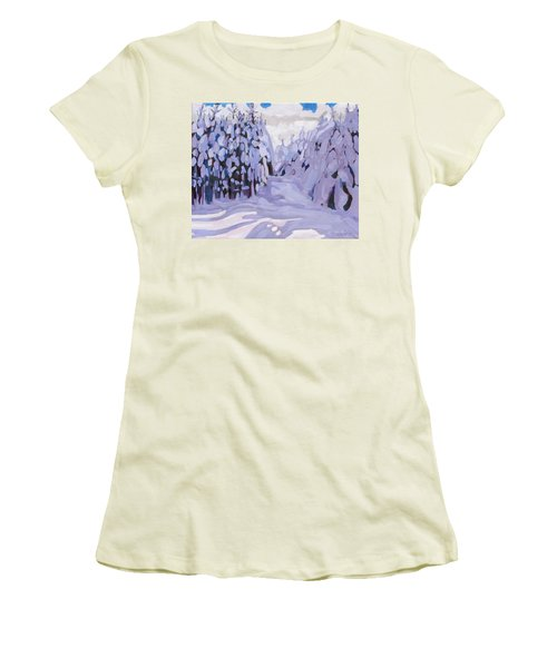 Boughs Before The Wind Women's T-Shirt (Athletic Fit)