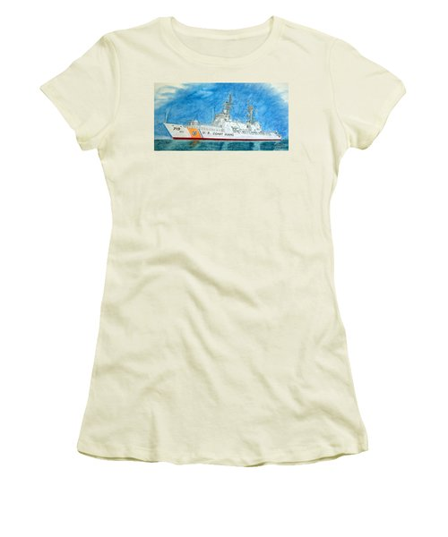 Boutwell-u.s.coast Guard 719 Women's T-Shirt (Athletic Fit)