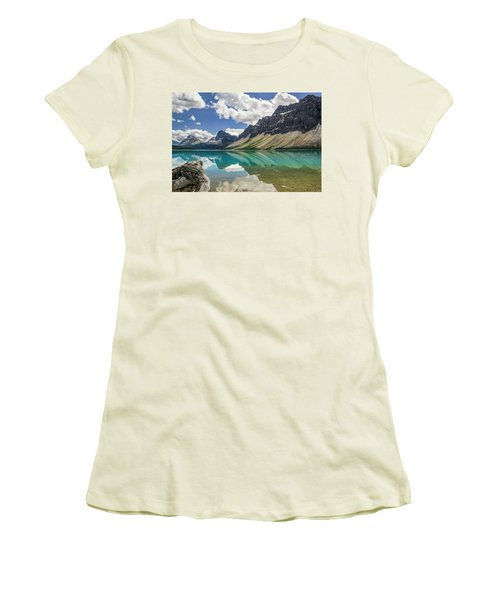 Bow Lake Women's T-Shirt (Athletic Fit)